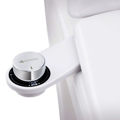 Ultimate Fresh Water Spray Non-Electric Mechanical Bidet Toilet Seat Attachment