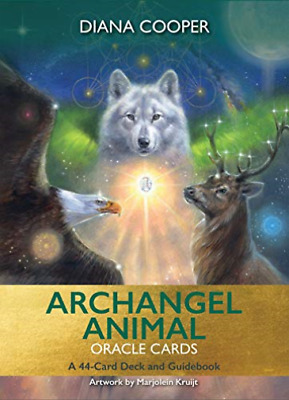 Archangel Animal Oracle Cards (UK IMPORT) BOOK NEW