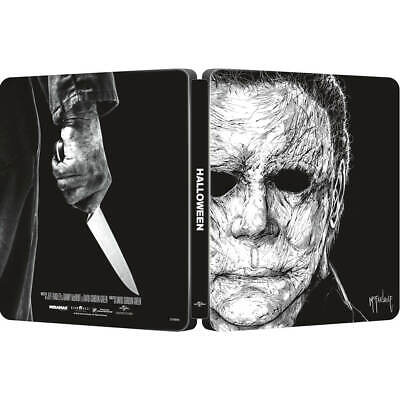 Halloween 2018 4K Ultra HD+ 2D Blu-Ray Steelbook Neuf sous Blister Preorder-Mike