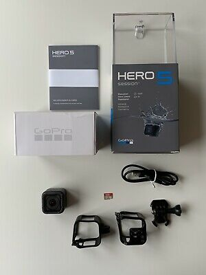 GoPro Hero5 Session Edition 4k Ultra HD Wi-fi Waterproof Camera With Extras