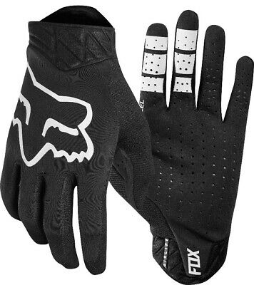 Fox Airline Motocross Offroad MX Enduro Race Gloves Black Adults
