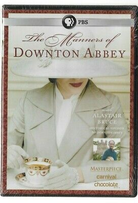 Sealed NEW DVD - TV Series - PBS - THE MANNERS OF DOWNTON ABBEY