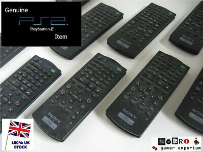 Original official Sony Playstation 2 PS2 DVD Remote Control SCPH-10420 PS2 SLIM