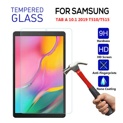 Screen Protector Tablet Film For Samsung Galaxy Tab A 10.1 T510 T515 2019