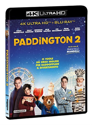Bonneville,Hawkins,Capaldi,...-Paddington 2 (Blu-Ray 4K+ (UK IMPORT) BLU-RAY NEW