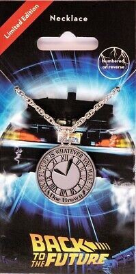 Back to the Future Necklace - Clock Official New