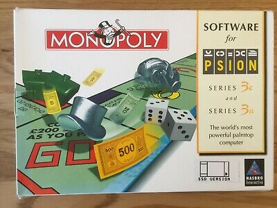 PSION  Monopoly for Psion 3a and 3c SSD Version