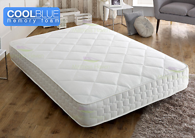 Memory Foam Matress Pocket Sprung 3ft Single 4ft 4ft6 Double 5ft King Mattress