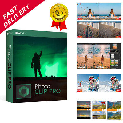 Inpixio Photo Clip 9 Pro ✔ Latest Full Version✔ Photo Editor✔ Easy Photo Eraser✔
