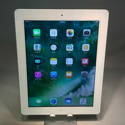 Apple iPad 4th Generation 16GB White WiFi - Excellent Condition - Engraved