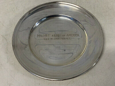 Vintage Gorham Sterling Silver Mastiff Club of America Open Dog Class Plate