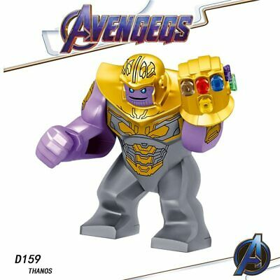 Avengers End game Minifigures Thanos Hulk Iron Man Thor Building Blocks Toy Lego