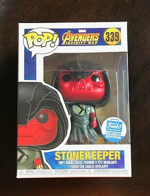 Funko POP! STONEKEEPER 339 Marvel Avengers Infinity War LIMITED NEW In PROTECTOR