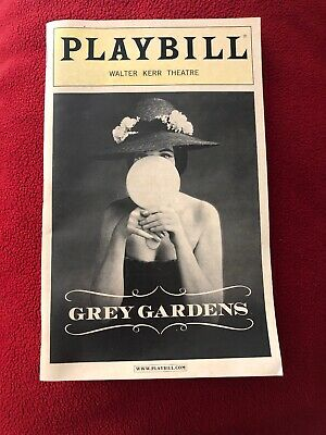 GREY GARDENS Playbill Walter Kerr Theater Broadway June 2007