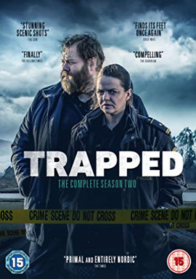 Trapped Season 2 (UK IMPORT) DVD NEW