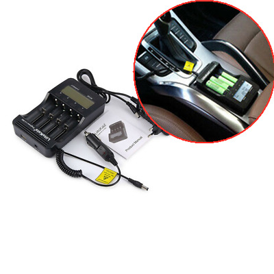 4 Channels for 18650 26650 AA AAA Automotive Battery Chargers Capacity Tester