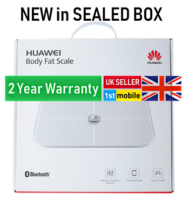 HUAWEI Body Mass Smart Scale AH100 with app UK SELLER, 2 YEAR WARRANTY New Boxed