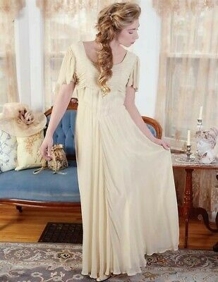 Victorian Trading Co April Cornell Antique Elegance Dress Ivory Gown XXL 26A