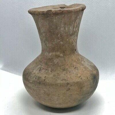 650-1250 AD Pre Columbian Artifact South America Clay Pottery Artifact Cup Vase