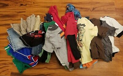 Mixed 38 Pc. Lot of Boy's Clothing 4T, 5, 5T