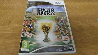 2010 Fifa World Cup South Africa - Nintendo Wii - Free Uk Postage