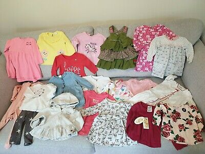 Baby Girl's NEXT, Peacocks, H&M, M&Co Kids, F&F Clothes Bundle Size 3 - 6 Months