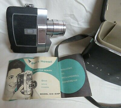 Bell & Howell Zoomatic Electric Eye Director Series 414 8mm Movie Camera