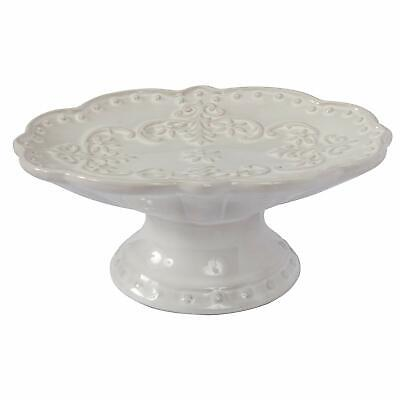 Soap Dish Antique White Victorian Style Shabby Chic Ceramic Bathroom Kitchen