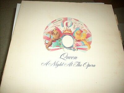 QUEEN-A NIGHT AT THE OPERA VINYL LP excellent  1975 PSYCH ROCK