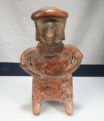 "Pre Columbian Pottery Mexico 8.5"" Figure      -   57179"