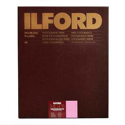 Ilford Multigrade RC Warmtone 1K Glossy Photo 9 3/8x12in 50 Sheets