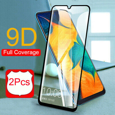 2PCS For Samsung Galaxy A50 A70 A40 A30 A20 M30 Tempered Glass Screen Protector