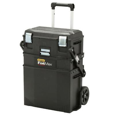 Stanley Tool Box 22 in. 4-in-1 Cantilever Mobile Work Center Lockable Rolling
