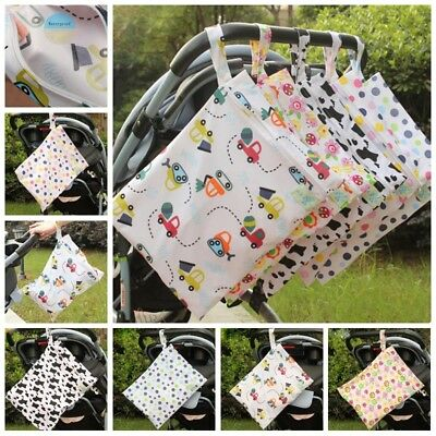 Portable Baby Diaper Stroller Waterproof Storage Bag Changing Table Organizer