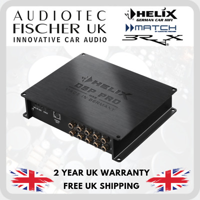 HELIX DSP PRO MK2 High-Res 10-channel signal processor with 96 kHz / 32 Bit PRO2