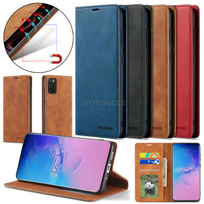 For Samsung Galaxy A50 A40 A70 A20 A10 Magnetic Flip Leather Case Wallet Cover