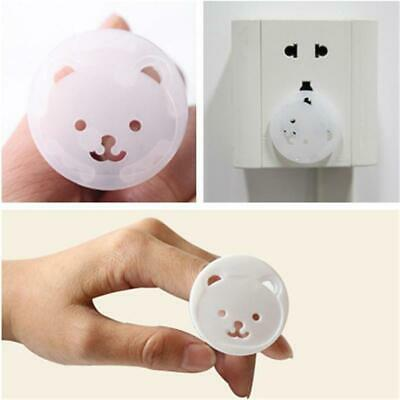 10x Bear Power Socket Electrical Outlet Protection from Children Safety Protect