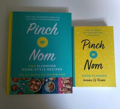 Pinch of nom book and food diary - New and unused - unwanted presents