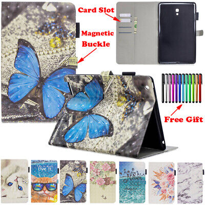 For Samsung Galaxy Tab A Case 10.1 10.5 2019 Tab S5e PU Leather Shockproof Cover