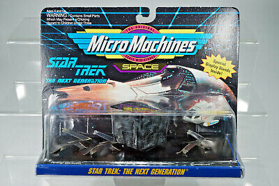 "Galoob Micro Machines Star Trek "" Next Generation "" Set #4 aus Ladenfund"