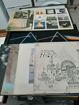 Joblot x8 pink floyd vinyl records ummagumma,  meddle, relics, dark side of moon