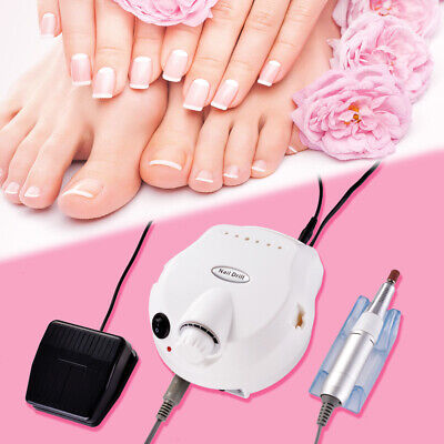 Manicure Pedicure Polisher Glazing Grinding Nail Drill Machine Tool Kit MT580
