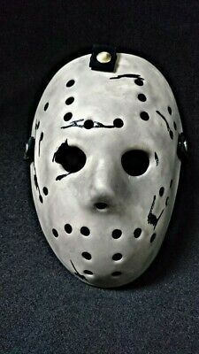 Friday The 13th Never Hike Alone inspired Jason Voorhees Mask.