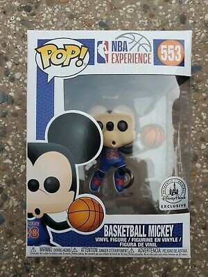Basketball Mickey Mouse NBA Experience Disney Exclusive #28 Funko Pop Vinyl