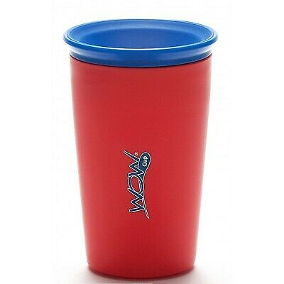 Wow Cup Kids No Spill Red