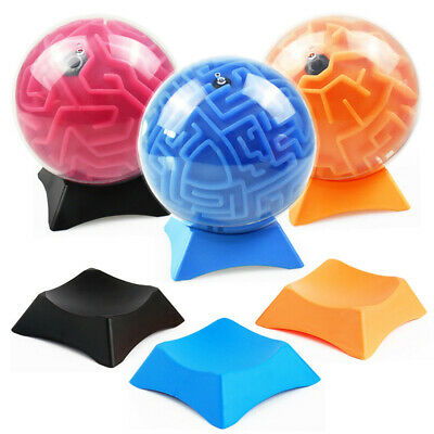 3D Maze Ball  Magic Puzzle Toy Base Balance Puzzle Game Toy Holder Base Stand