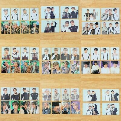 4/8PCS BTS 2019 5th Muster Official Photocards SUGA JIN MINI Poster Lomo Cards