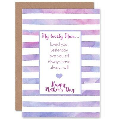 GREETING CARD - Mother's Day, funny, step mum, from the