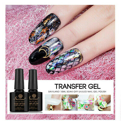 Paper UV Gel Foil Star Nail Glue Nail Art Decal Starry Sticker Adhesive
