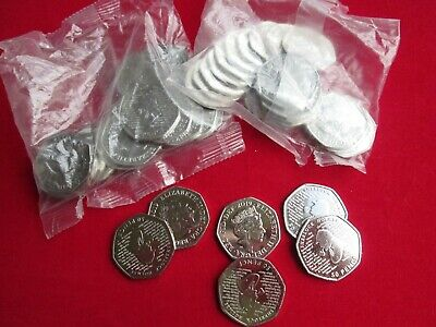 New 2019 Sherlock Holmes 50p Fifty Pence Coin Rare Collectible Uncirculated